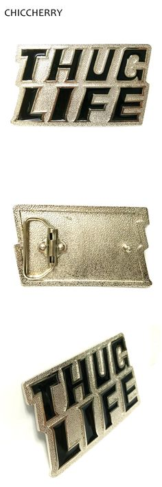 Male Belt Accessories Truc Life Letters Zinc Alloy Big Belts Buckles DIY For Men 4cm Width Hip Belts Hebillas Cinturon Hombre