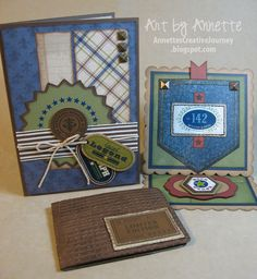 """Annette's Creative Journey: Cards & More """"Victory"""" Projects"""