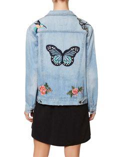 Butterfly Obsessed Denim Jacket