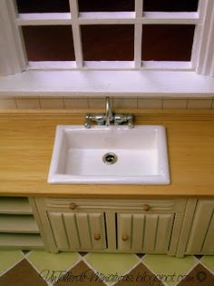 how to: kitchen sink (wood)  make to be undercounter and with curve