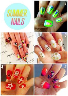 Summer nails ♡Add me♡