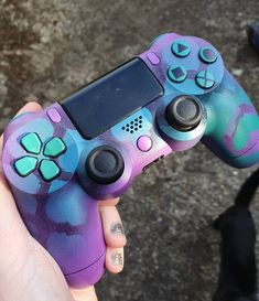 Dit item is niet beschikbaar Cool Ps4 Controllers, Ps4 Controller Custom, Game Controller, Fluffy Phone Cases, Cute Anniversary Gifts, Video Game Rooms, Birthday Party For Teens, Gaming Room Setup, Consoles