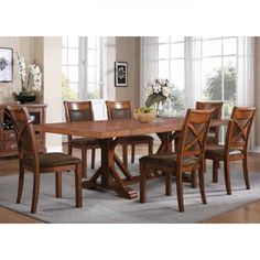 Austin Hills Dining - Dining Table & 4 Chairs (128844)   Conn's HomePlus