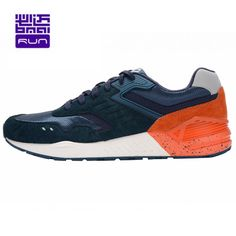 Bmai new men's Genuine leather Retro running shoes Arch Sneakers Jogging restoring ancient ways men sports shoes XRHA005