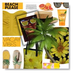 """""""Beach Please: Vacay Outfit"""" by sunflower-707 ❤ liked on Polyvore featuring Maticevski, STELLA McCARTNEY, Tory Burch, Prada, Alba Botanica, Elizabeth Arden, BeachPlease and vacayoutfit"""