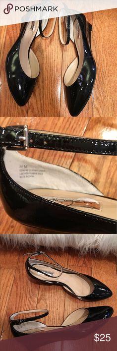 Sold Halogen Black Leather Upper & Sole Wedge Halogen Black Leather Upper & Sole Wedge Ankle Strap women's Shoes Heels 8.5 Halogen Shoes Wedges