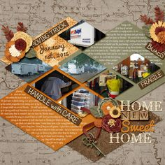 Home Sweet Home Queen Wild Scraps: Week by Week Vol. 1  Leaving a Legacy Designs: Home Sweet Home Bundle