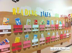 Dr Seuss & Reading Bulletin Board by mudpiestudio, via Flickr