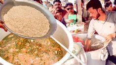 Al Ghousia Beef Pulao is famous for making Hyderabadi special beef pulao in open roadside kitchen. Street food beef Pulao is famous in Karachi food street bu. Karachi Pakistan, Street Food, Beef, Meat, Ox, Steaks, Steak