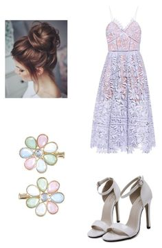 """""""Untitled #204"""" by chuchu-cli on Polyvore featuring self-portrait and Monsoon"""