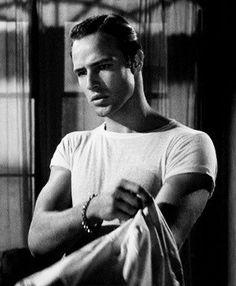 Marlon Brando as Stanley Kawalski in the film A Streetcar Named Desire. #Brando #streetcar