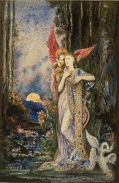 Love this...Gustave Moreau.
