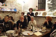 finissage con tour: cena all'HosteriaNOVA location della mostra
