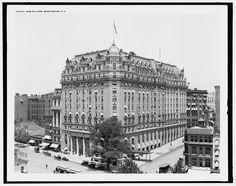 "1900-1910. ""New Willard, Washington, D.C."" Detroit Publishing Company Photograph Collection, Library of Congress."