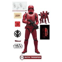 The Sith Trooper - Star Wars: The Rise of Skywalker - Life Size Officially Licensed Removable Wall Decal wall decal provides an easy decorating solution. All of Fathead's Star Wars Movies wall decals are reusable without damaging walls. Star Wars Helmet, Star Wars Sith, Star Wars Droids, Star Trek, Lego Stormtrooper, Knights Of Ren, Giant Star, Star Wars Personajes, The Old Republic