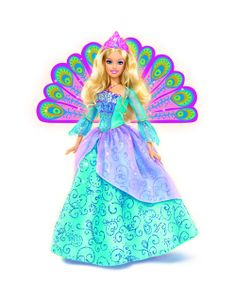 Barbie princess peacock