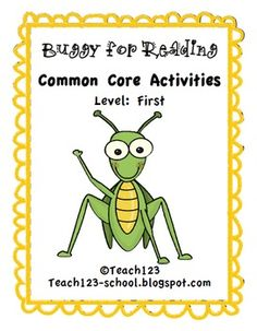 Buggy for Reading - First Level - aligned with 1st and 2nd Common Core Standards $5