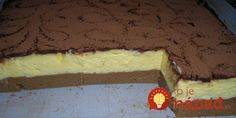 Home - Domaci Recept Czech Recipes, Ethnic Recipes, Fun Desserts, Dessert Recipes, Sweet Cakes, Something Sweet, No Bake Cake, Sweet Recipes, A Table