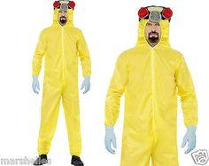 Heisenberg #walter white breaking bad hazmat lab suit #fancy #dress costume + bea,  View more on the LINK: http://www.zeppy.io/product/gb/2/251891290963/