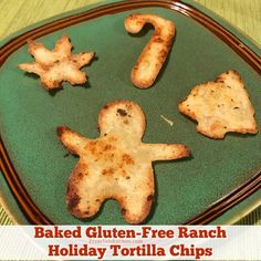 Baked Gluten-free Ranch Holiday Tortilla Chips Recipe - From Val's Kitchen