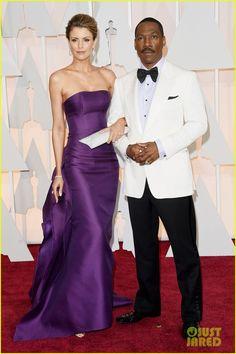 Eddie Murphy & Paige Butcher Make It a Date Night at Oscars 2015