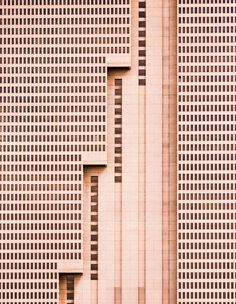 """The tallest building in Fort Worth, Texas, this simple brutalist architectural design is a unique addition to the vibrant and growing downtown landscape, with a strong, repetitive pattern of windows being interrupted by meticulous, powerful vertical lines."" Courtesy of: Nikola Olic"