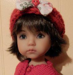 "Dianna Effner Monday's Child by Boneka, 10"" doll by Helen Skinner"