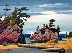 42 Ideas for urban art gallery artworks Canadian Painters, Canadian Artists, Landscape Art, Landscape Paintings, Watercolor Landscape, Landscapes, Paintings I Love, Urban Art, Painting Inspiration