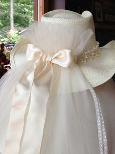 On Sale! Ivory Bridal Cowboy Hat & Veil for Bachelorette Party or Wedding, Shivaree is the Perfect gift for the Bride-to-Be on Etsy, $195.00