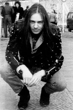 Thomas Börje Forsberg known as Quorthon (1966 - 2004). He was a multi-instrumentalist, the founder and songwriter of Bathory.