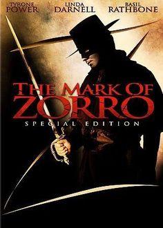 Twentieth Century Fox Mark Of Zorro Special Edition