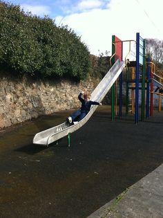 dylan on the slide lol