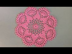 At the first sight this beautiful crochet doily might appear too complicated for you, especially if you are an absolute beginner, but here on Yarnandhooks we have brought you some very helpful and easy to follow instructions including a free pattern and video tutorial with the step by step guidelines...