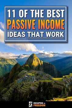 Some people say that passive income doesn't work... but they haven't tried these 11 passive income ideas! Pick one and get started!! My favorite is #5.