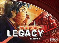 Pandemic Legacy: Season 1 | Board Game | BoardGameGeek 2-4 players 60 minutes