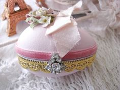 Lovely Pink Decorative Egg
