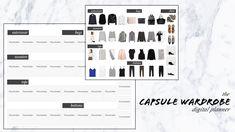 Capsule Wardrobe Planner