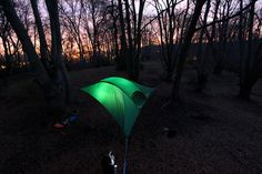 Sleep in the Trees Inside a Portable Suspended Treehouse by Tentsile #innovation