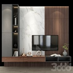 Tv Unit Interior Design, Tv Unit Furniture Design, Tv Wall Design, Modern Home Interior Design, Tv Shelf Design, Living Room Wall Units, Living Room Tv Unit Designs, Living Room Interior, Living Room Decor