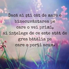 Iar daca nu stii, pierzi ceva? Daca nu stiu ce pierd, nu conteaza. Bible Text, Bless The Lord, Morning Inspirational Quotes, Gods Grace, Quotes About God, Faith In God, People Quotes, Powerful Words, True Words