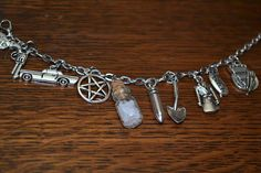 Hey, I found this really awesome Etsy listing at http://www.etsy.com/listing/125375716/supernatural-related-charm-bracelet-x9