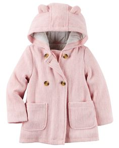 Toddler Girl Wool Peacoat from Carters.com. Shop clothing & accessories from…