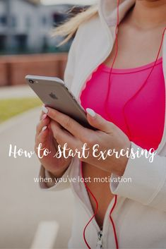How to Start Exercising When You've Lost Motivation - Classy Career Girl How To Start Exercising, How To Start Running, Best Careers, Work Life Balance, Losing 10 Pounds, Tone It Up, Thinspiration, Weight Loss Goals, How To Stay Healthy