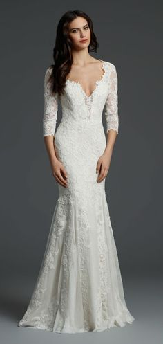 Bridal Gowns, Wedding Dresses by Alvina Valenta - Style AV9458