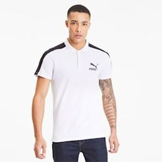 PRODUCT STORY Extra sleek and always sporty, the Iconic style gets a fresh update in this slim-fit polo. FEATURES BENEFITS PUMA Best Cotton: High quality cotton for maximum comfort and long-lasting wear DETAILS Slim fitThree button placket wi. Puma Original, Slim Fit Polo, 1 Logo, Slim Man, Central Plaza, Polo Ralph Lauren, Short Sleeves, Sporty, Mens Tops