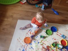 Very Messy Mummy Messy Play, Car Painting, Little Ones, Toddlers, Triangle, Babies, Cars, Projects, Young Children