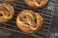Making soft pretzels is easy! This homemade soft pretzel recipe makes delicious pretzels that are dairy-free, vegan and so good.