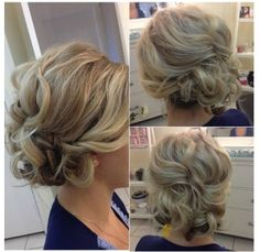 Bridesmaid hair-Love this! Short Hairstyles For Women, Girl Hairstyles, Short Girls, Short Hair Styles, Bob Styles, Short Haircuts, Women Short Hair, Short Length Haircuts, Ladies Hair Styles