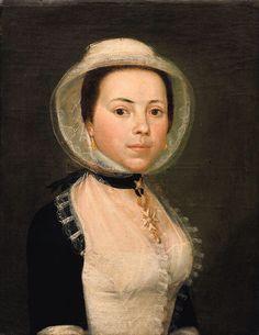 Portrait de femme en costume d Arles vers 1770/1780 Institut du Grenat .com Antoine Raspal,ancienne coll Aubanel