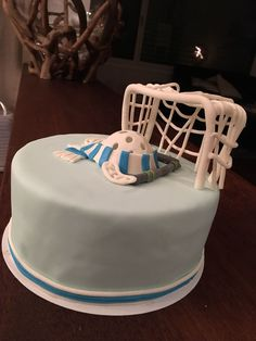 Floorball cake Sport Cakes, 18th Birthday Party, Sweets, Cooking, Desserts, Food, Cake Ideas, Dessert Ideas, 20th Birthday